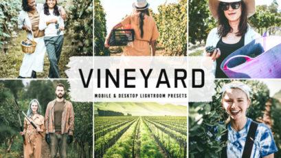 Vineyard Mobile & Desktop Lightroom Presets