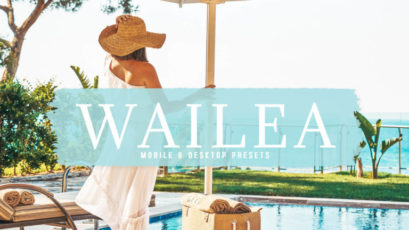 Wailea Mobile & Desktop Lightroom Presets