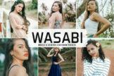 Last preview image of Wasabi Mobile & Desktop Lightroom Presets