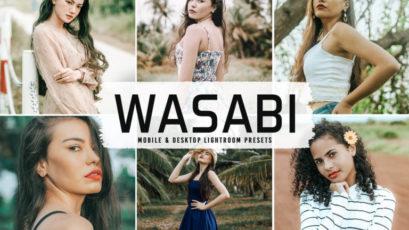 Wasabi Mobile & Desktop Lightroom Presets