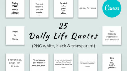 25 Life Quotes