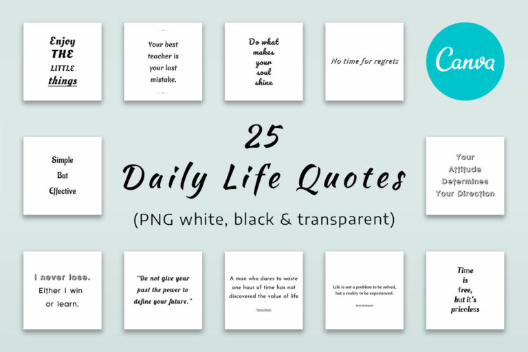 Preview image of 25 Life Quotes