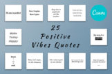 Last preview image of 25 Positive Vibes Quotes