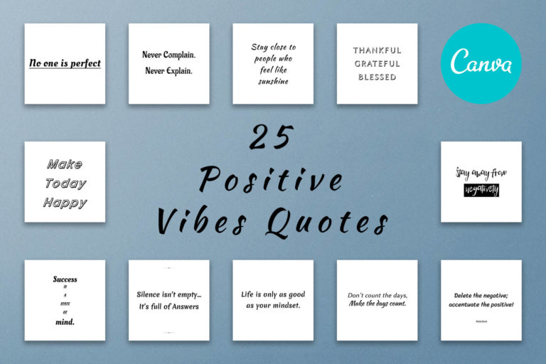 Preview image of 25 Positive Vibes Quotes