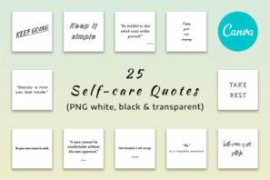25 Self-Care Quotes
