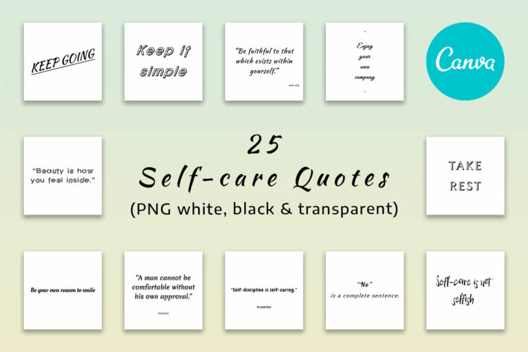 Preview image of 25 Self-Care Quotes