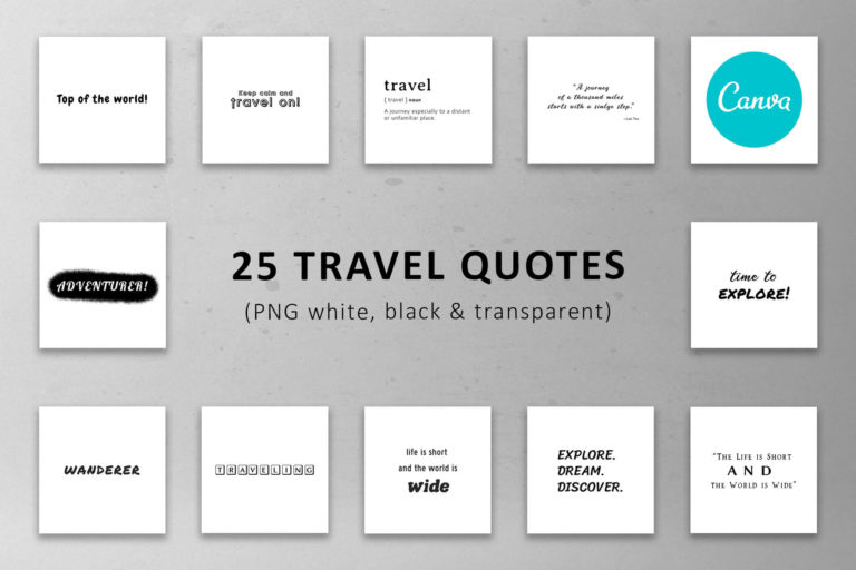 Preview image of 25 Travel Quotes