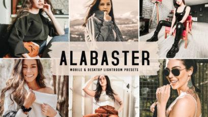Alabaster Mobile & Desktop Lightroom Presets