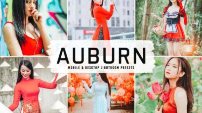 Auburn Mobile & Desktop Lightroom Presets