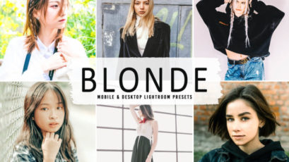 Blonde Mobile & Desktop Lightroom Presets