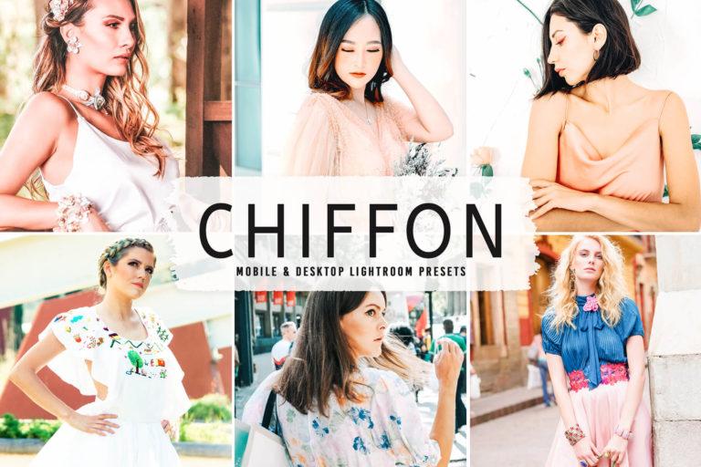 Preview image of Chiffon Mobile & Desktop Lightroom Presets