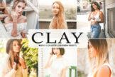 Last preview image of Clay Mobile & Desktop Lightroom Presets