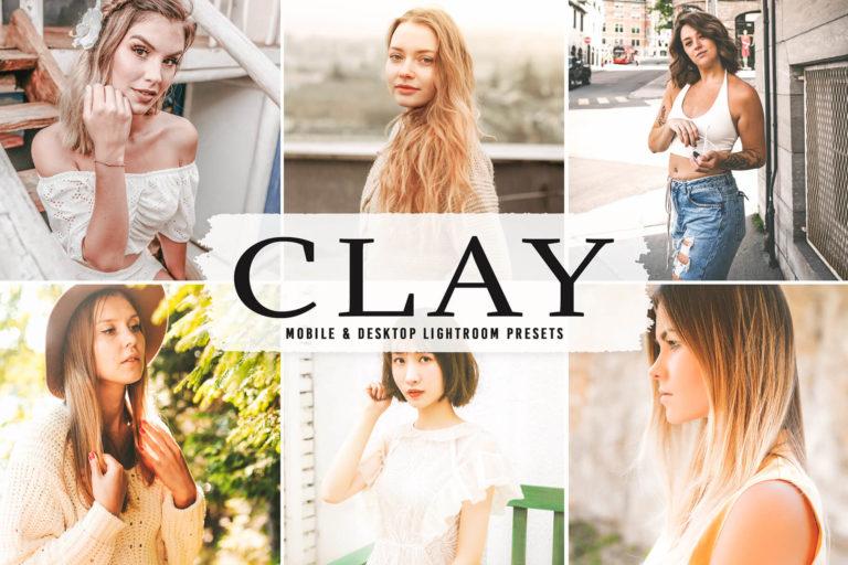 Preview image of Clay Mobile & Desktop Lightroom Presets