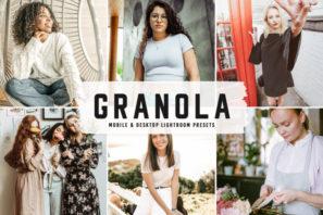 Granola Mobile & Desktop Lightroom Presets