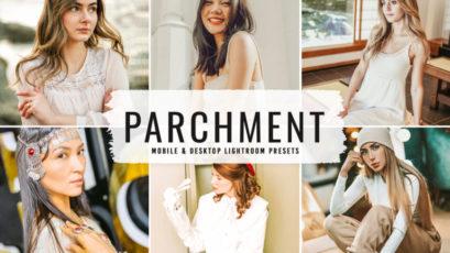 Parchment Mobile & Desktop Lightroom Presets