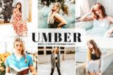 Last preview image of Umber Mobile & Desktop Lightroom Presets
