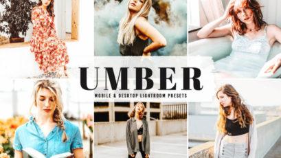 Umber Mobile & Desktop Lightroom Presets