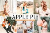 Last preview image of Apple Pie Mobile & Desktop Lightroom Presets
