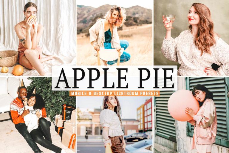 Preview image of Apple Pie Mobile & Desktop Lightroom Presets