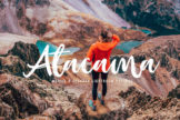 Last preview image of Atacama Mobile & Desktop Lightroom Presets