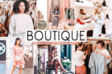 Last preview image of Boutique Mobile & Desktop Lightroom Presets