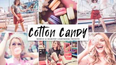 Cotton Candy Mobile & Desktop Lightroom Presets