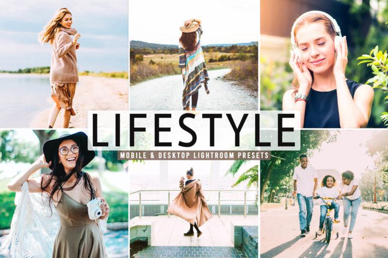 Preview image of Lifestyle Mobile & Desktop Lightroom Presets