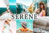 Last preview image of Serene Mobile & Desktop Lightroom Presets