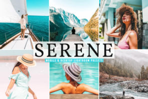 Serene Mobile & Desktop Lightroom Presets