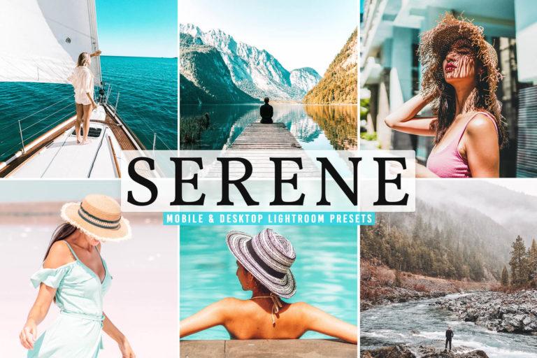 Preview image of Serene Mobile & Desktop Lightroom Presets