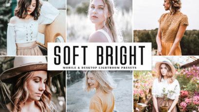 Soft Bright Mobile & Desktop Lightroom Presets