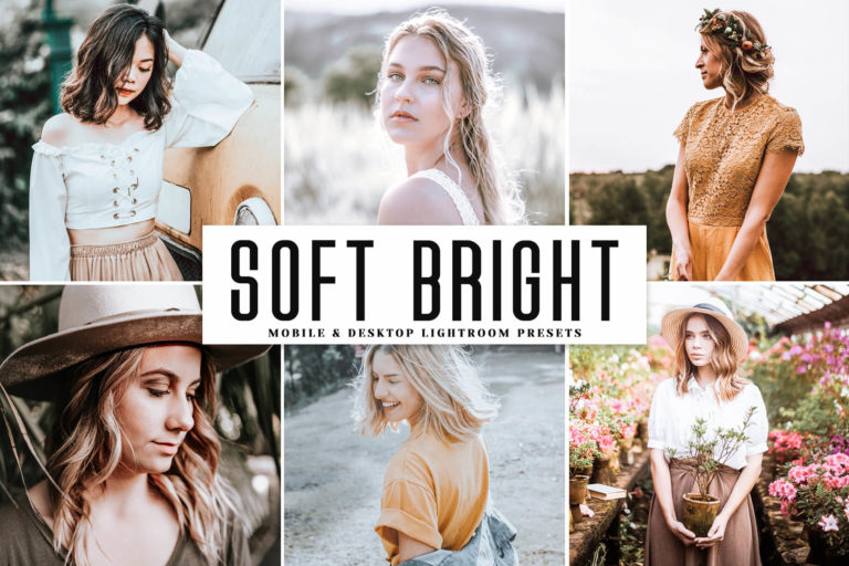 Preview image of Soft Bright Mobile & Desktop Lightroom Presets
