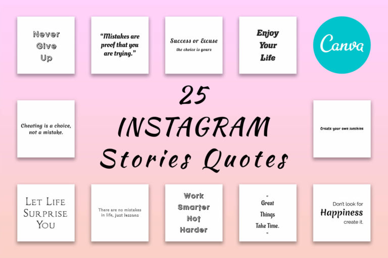 Preview image of 25 Insta Quotes